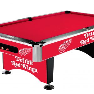 Detroit Red Wings Pool Table