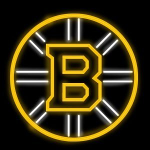 Boston Bruins Neon Sign