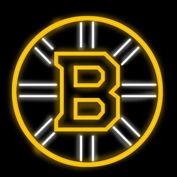 Boston Bruins Neon Sign