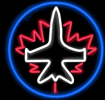 Winnipeg  Jets Neon Sign