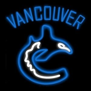 Vancouver Canucks Neon Sign