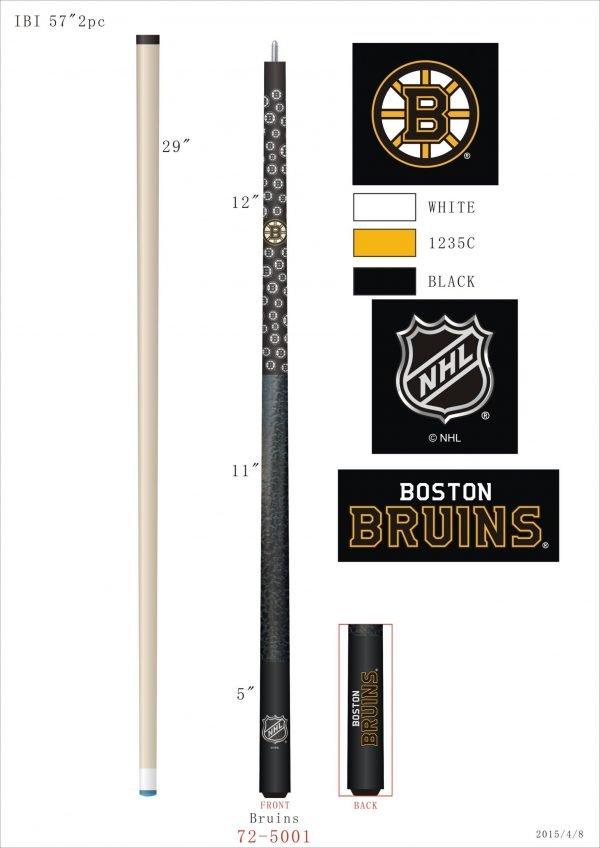 Boston Bruins Pool Cue