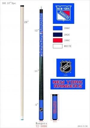 New York Rangers Pool Cue