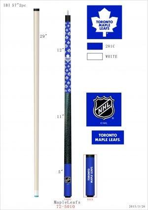 Toronto Maple Leafs Pool Cue