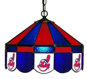 Cleveland Indians Poker Table Light