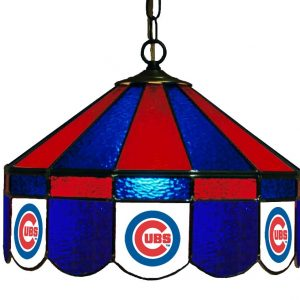 Chicago Cubs Poker Table light
