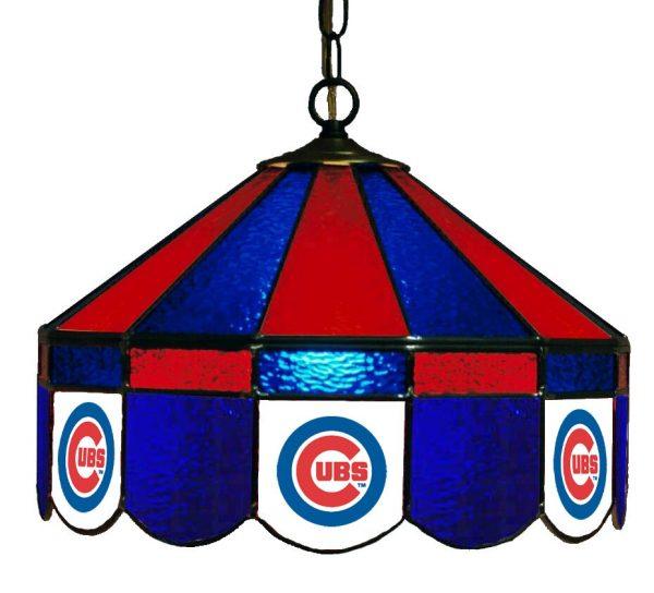 Chicago Cubs Poker Table light