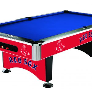 Boston Red Sox Pool Table