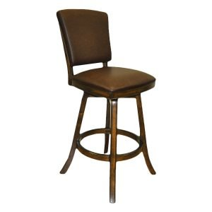 Antique Walnut Backed Barstool