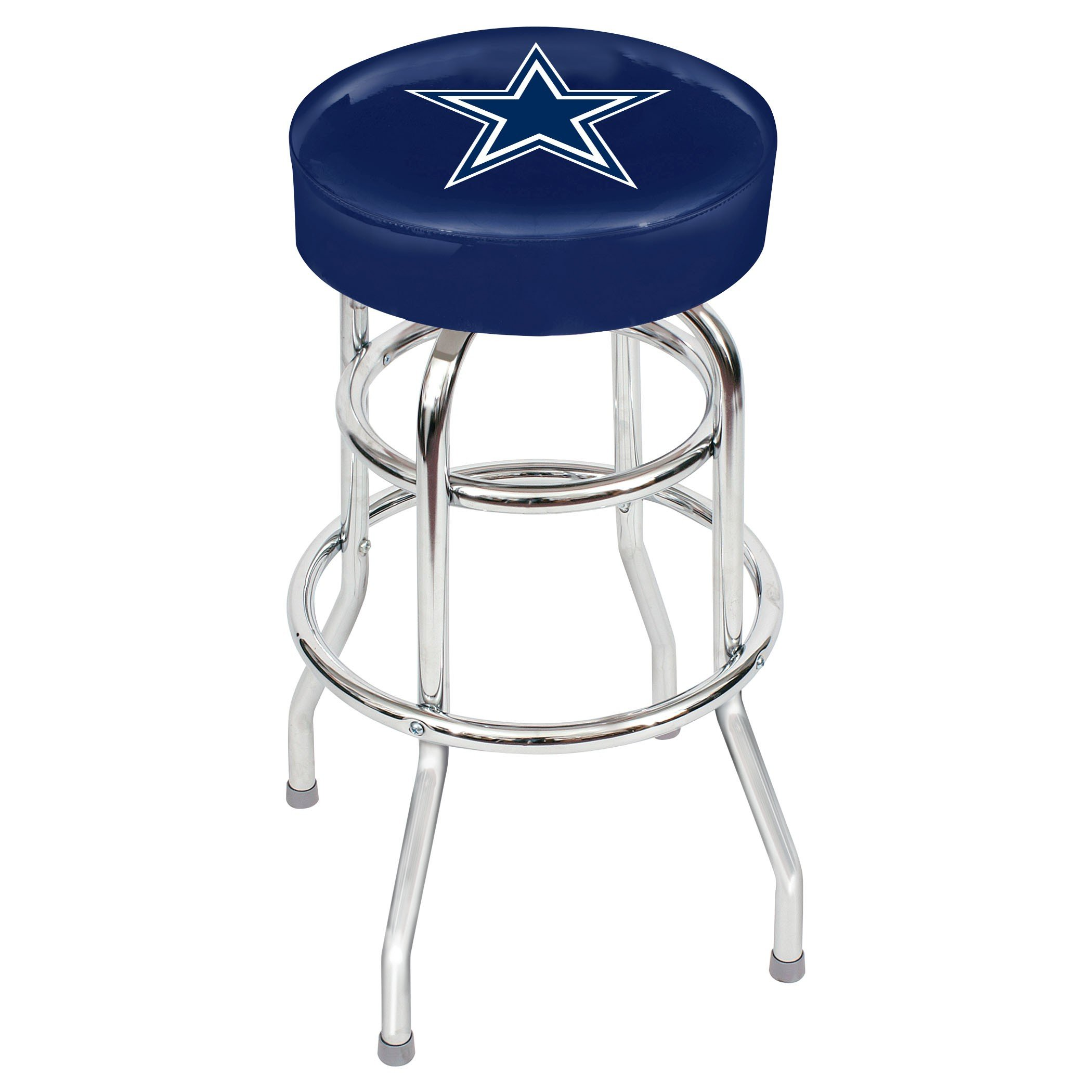 Dallas Cowboys Metal Bar Stool