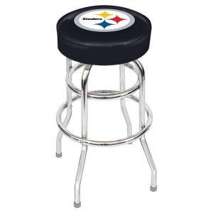 Pittsburgh Steelers Metal Bar Stool