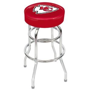 Kansas City Chiefs Metal Bar Stool