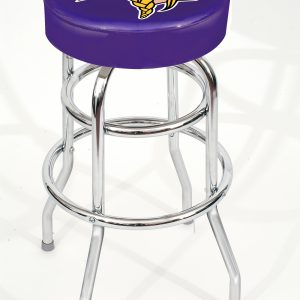 Minnesota Vikings Metal Bar Stool