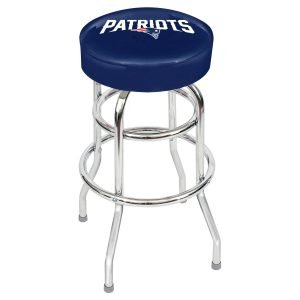 New England Patriots Metal Bar Stool