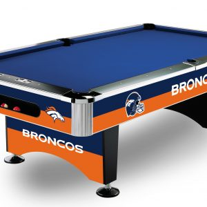 Denver Broncos Pool Table