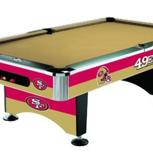 49ers Pool table