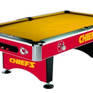 Kansas City Chiefs Pool table