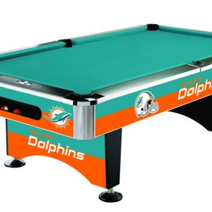 Miami Dolphins Pool Table