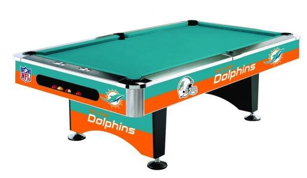 Miami Dolphins Pool Table