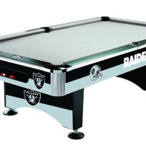 Oakland Raiders Pool Table