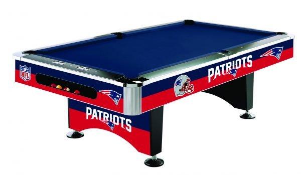 New England Patriots Pool Table