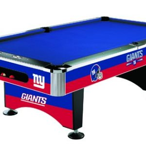 New York Giants Pool Table