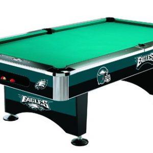 Philadelphia Eagles Pool Table