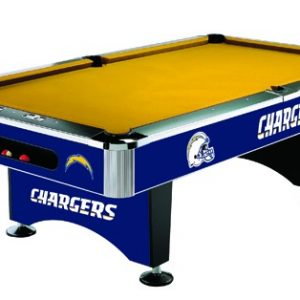 San Diego Chargers Pool Table