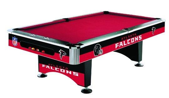 Atlanta Falcons Pool Table