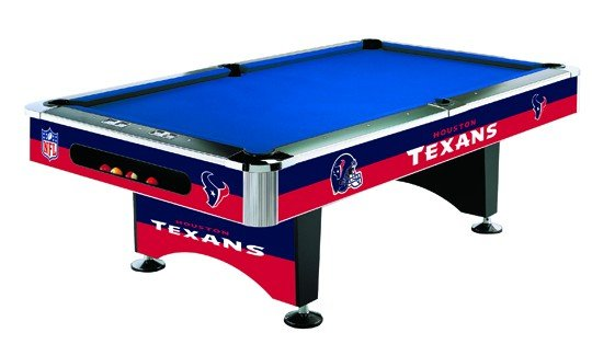 Houston Texans Pool Table
