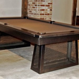Plank and Hide Ixabel Pool Table