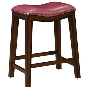 Crimson Toned Stool