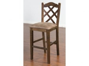 Crossed back Stool