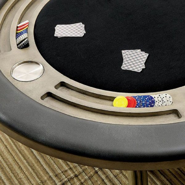 Melody Poker Table Grey
