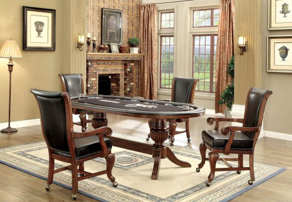 Melody Poker Table Cherry