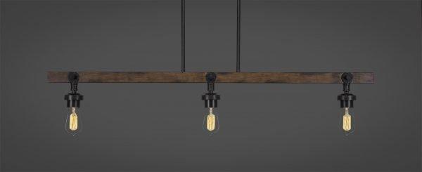Portland 3 Lights With Bulbs