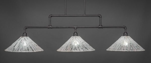Vintage Dark Granite Glass Bulbs