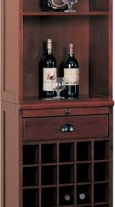 Bar Wall Shelf Merlot