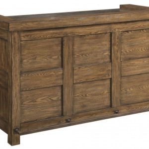 Craftsman Design Bar, Brushed Rustic Ash