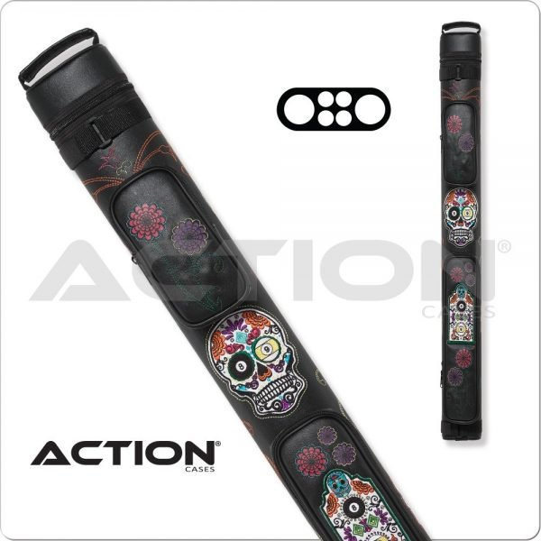 Action Calavera 2x2 White Hard Case
