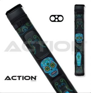 Action Calavera  2x2 Blue Hard Case