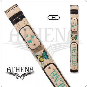 Athena 2x2 Hard Embroidered Cue Case