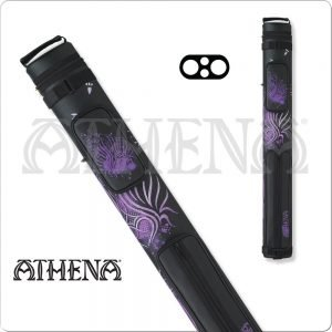 Athena 2x2 Purple Hard Cue Case