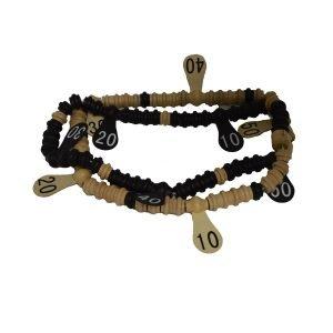 Wood Scoring Beads