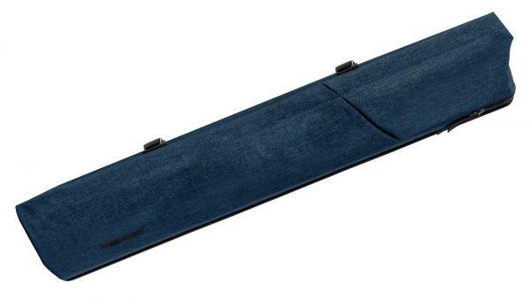 Predator Urbain Blue Hard Pool Cue Case - 2 Butts x 4 Shafts
