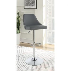 Sleek And Slim Adjustable Barstool
