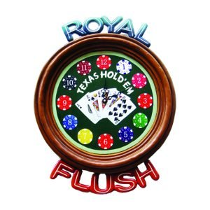 Royal Flush Clock