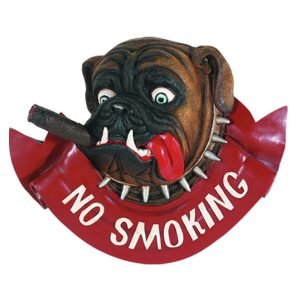 No Smoking Dog