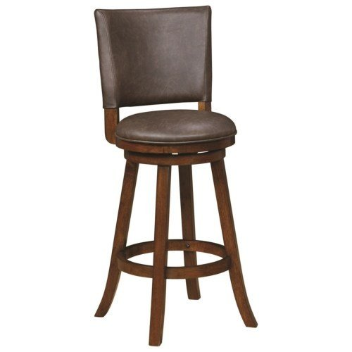 Two toned Leatherette Stool