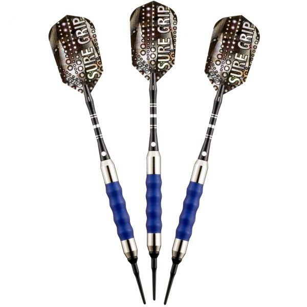 Sure Grip Colored Grips Soft Tip Darts 16 Grams